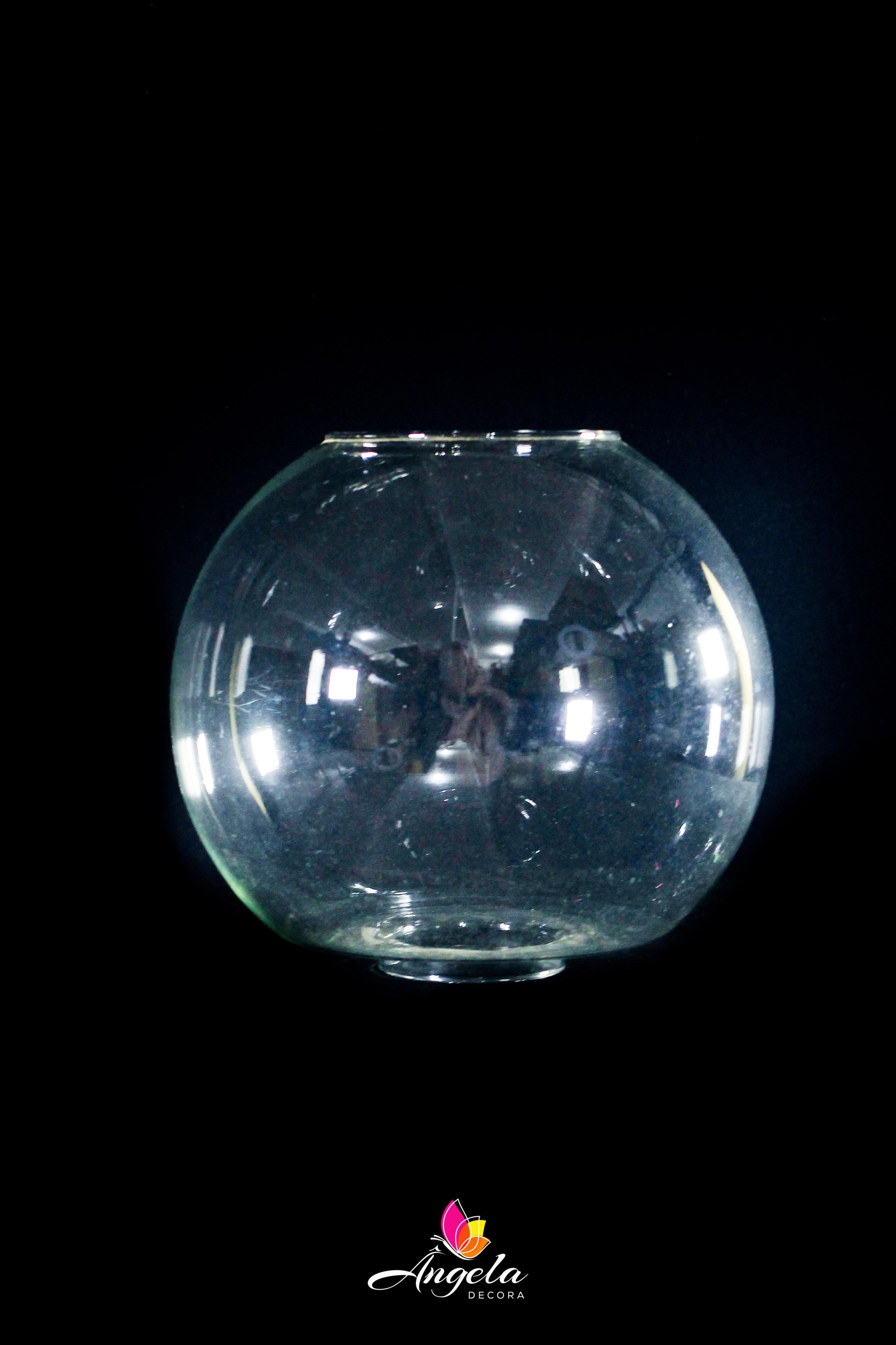 Vaso de Vidro Aquário